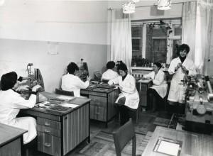 Отдел поверки линейно-угловых измерений 1982 год